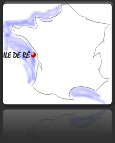 Carte de situation Ile de Ré